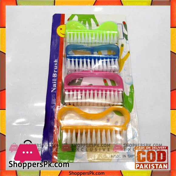4 Pieces Nail Brush Set