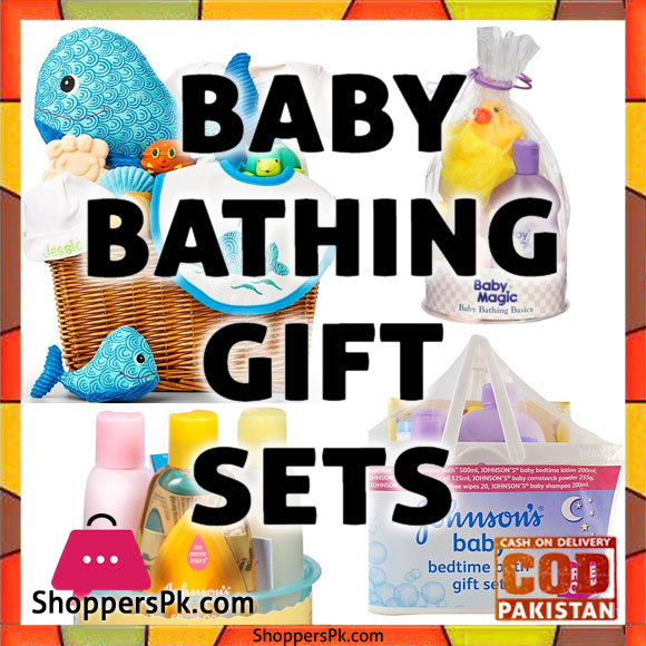 Johnson and Johnson Baby Bath Gift Set in Karachi