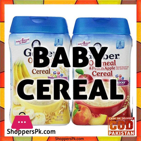 Baby Cereal Brands in Lahore