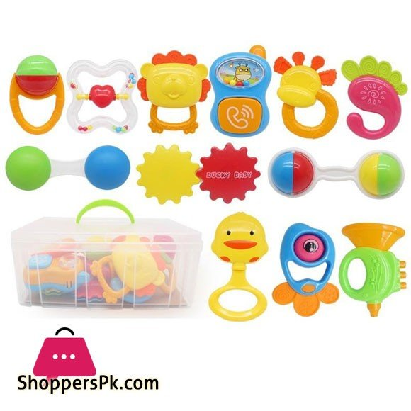Baby Infant Rattle Set V1
