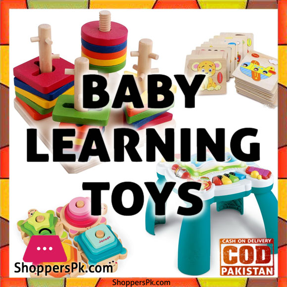 Baby Learning Toys 3-6 Months in Lahore