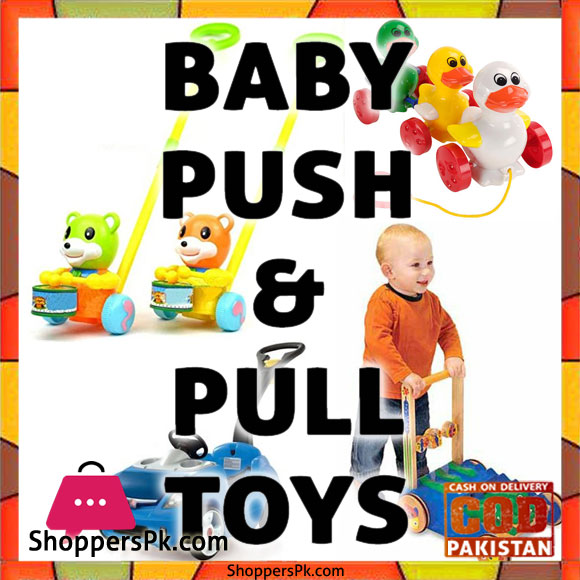 Baby Push & Pull Toys Price in Pakistan