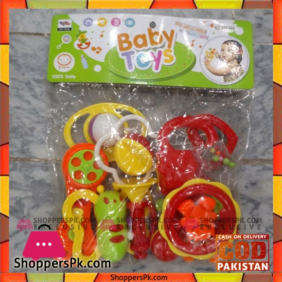 Baby Toys Infant Rattle Set