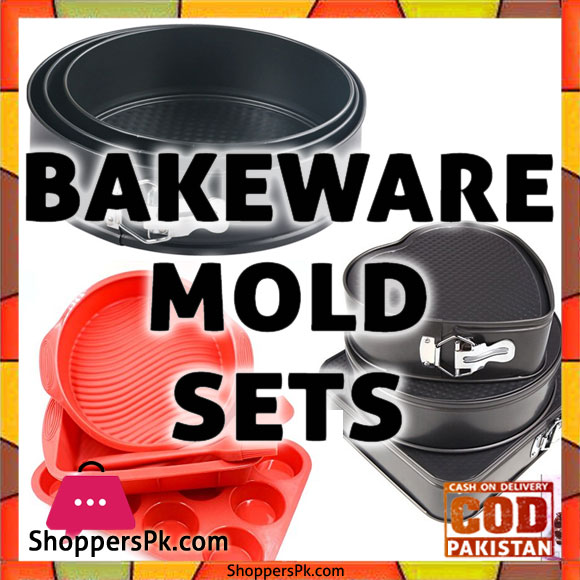 Bakeware Mold Sets Price in Pakistan