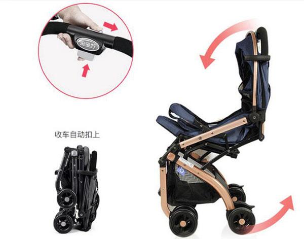 High Quality Luxury Boabaohao Baby Stroller QZ1