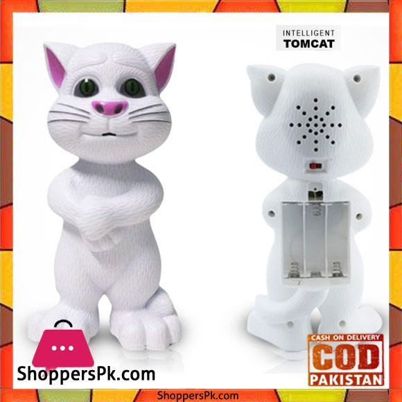 Battery Operated Talking Tom Cat Toy 383-18