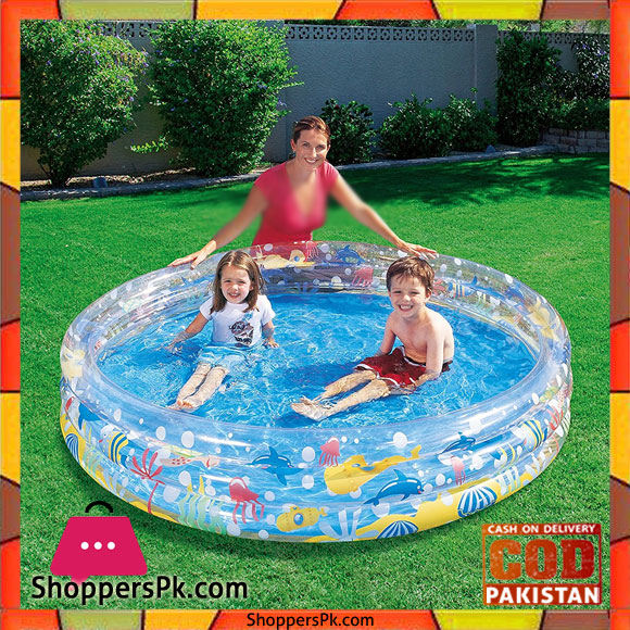 Buy Bestway 3 Rings Deep Dive Pool 6 X 1 Feet 51005 At