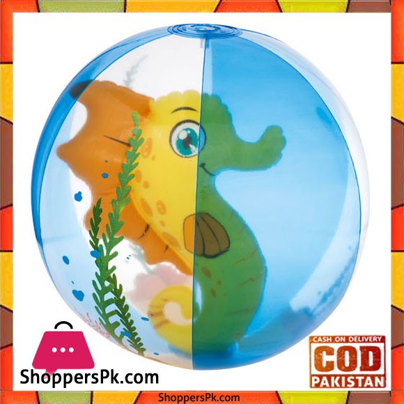 Bestway 3D Inflatable Beach Ball 20 Inch