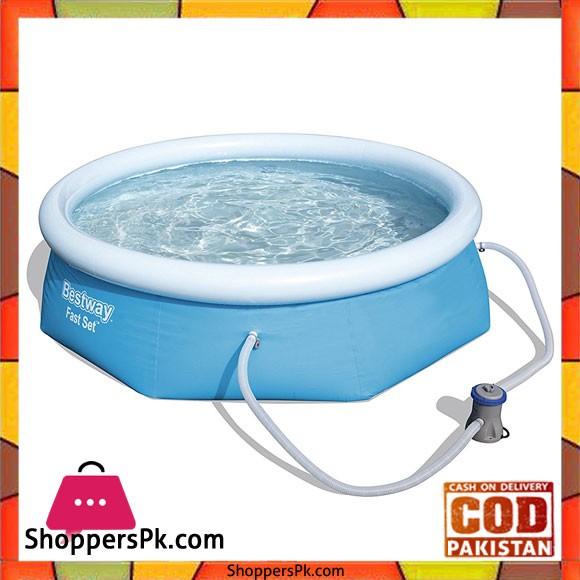 Bestway Fast Set Swimming Pool 8 Feet X 26 Inch #57268