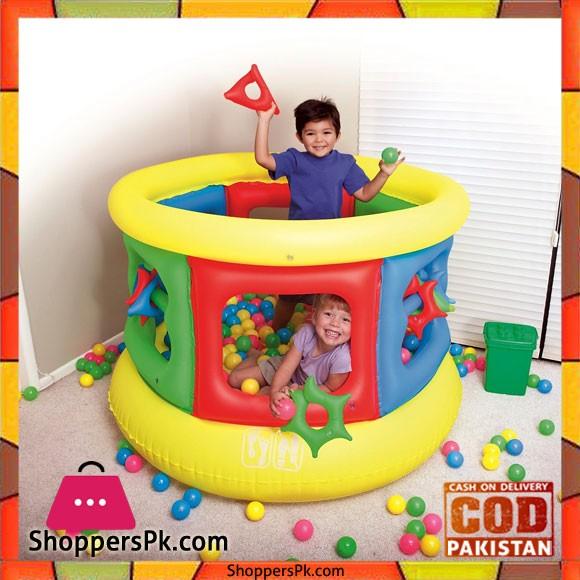 Bestway Inflatable Bouncer Jumping Trampoline 3 - 6 Years Kids #52056 - Jumpoline
