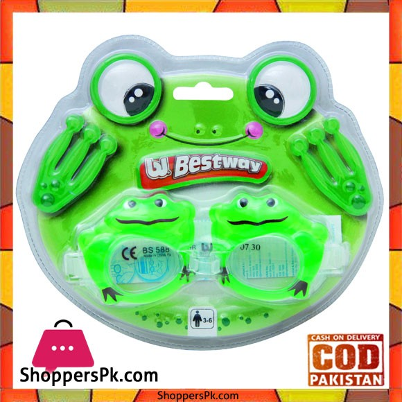 Bestway Junior Swimming Character Goggles 21047 For 3-6 Years Kids