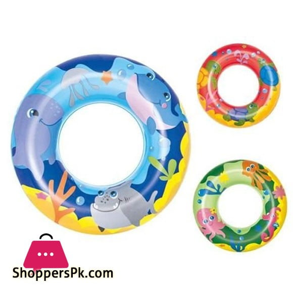 Bestway Swim Float Ring 20 Inch For 3 - 6 Years Kids #36113