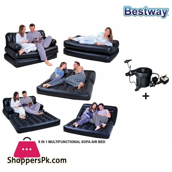 Bestway Three Seater Sofa Cum Bed #75056