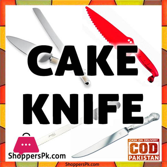 Buy Online Cake Knife Plastic in Pakistan