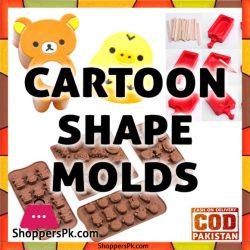 Cartoon Shape Molds