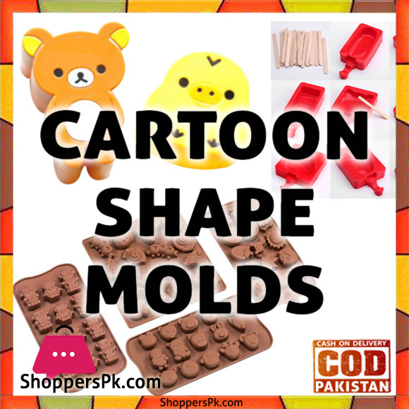 Cartoon Shape Molds Price in Pakistan