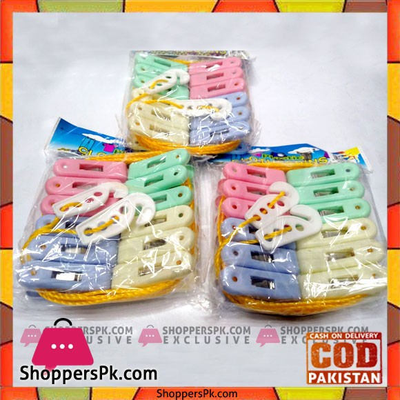 Clothes Pin 12 Pieces One Pack