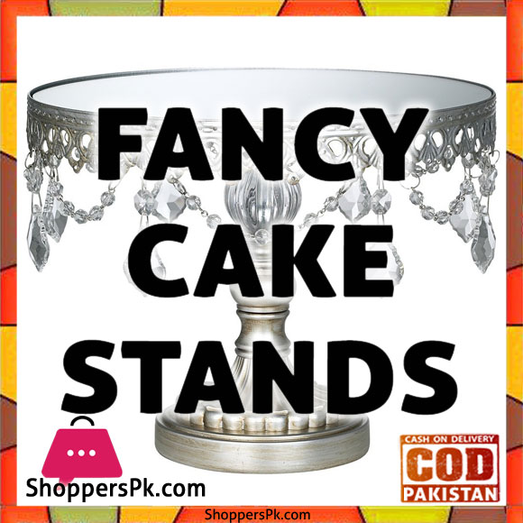 Buy Online Fancy Cake Stand in Pakistan