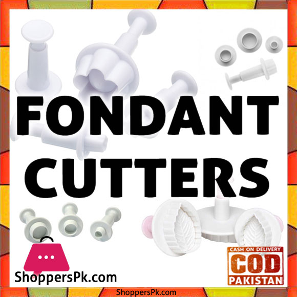Fondant Cutters and Embossers in Islamabad
