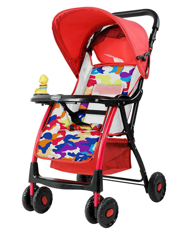 High Quality Baobaohao Baby Stroller 722C Red And Blue