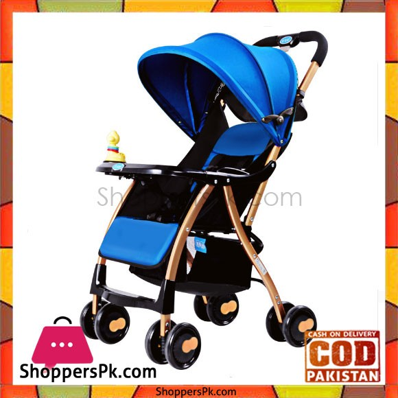 High Quality A1 Bao Boa Hao Folding Baby Stroller (Purpple and Blue)