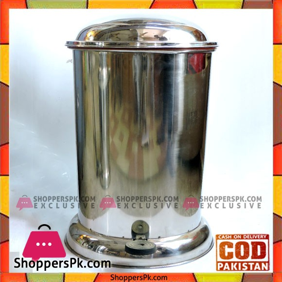High Quality Stainless Steel Pedal Bin Large