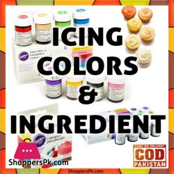 Icing Colors & Ingredients