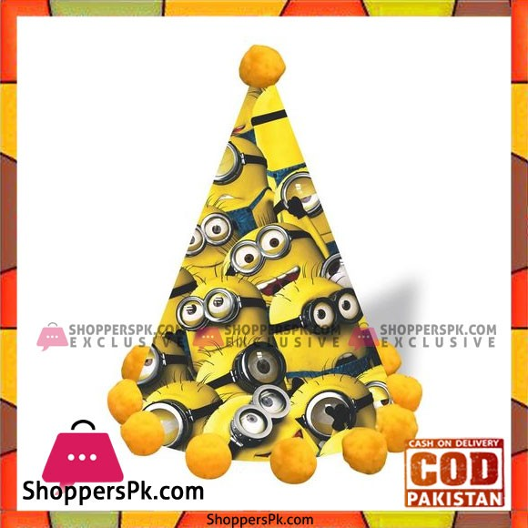 Minion Birthday Cap - Yellow