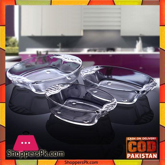 NORITAZEH Primex Roast Dish Family Set 3 Pcs