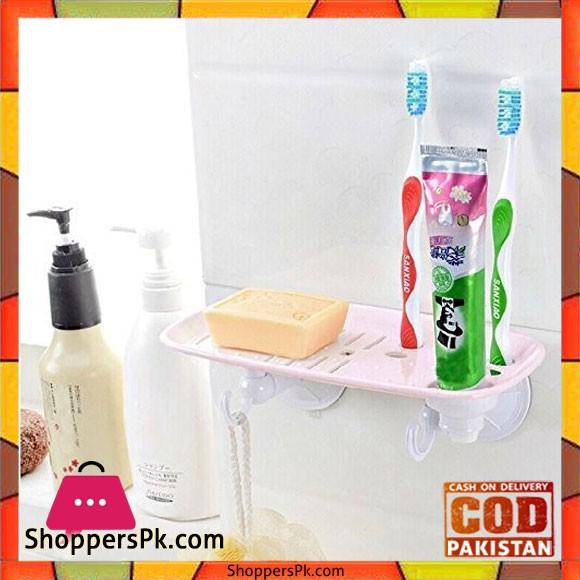 Plastic Multi-Purpose Soap Dish Holder