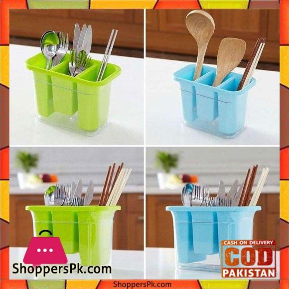 Plastic Spoon Holder Shelf Rack 1 Pcs