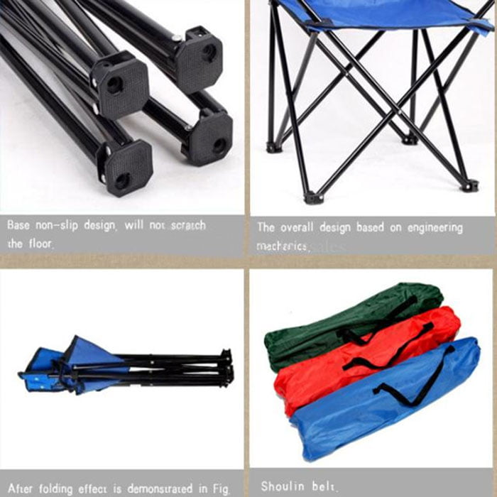 Portable Beach Camping Chair Max weight 120 kg