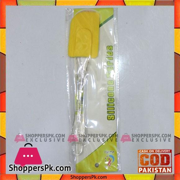 Silicone Spatula with Acrylic Handle