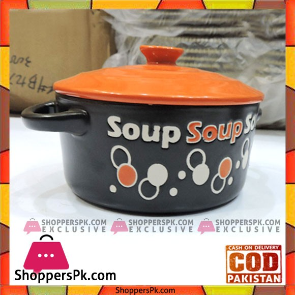 Soup Bowl With Lid