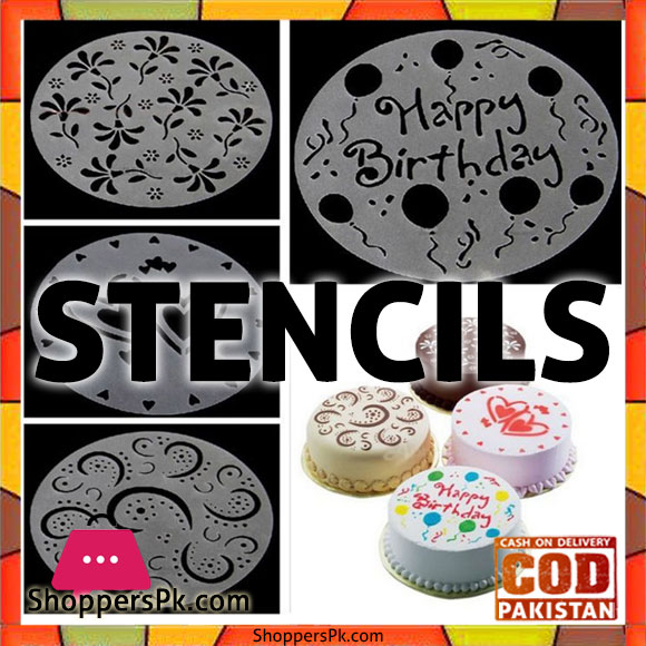 Cake Stencils Diy Price in Pakistan