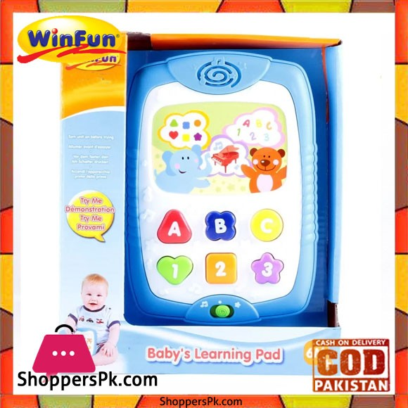 Winfun Baby's Learning Pad Multi Color