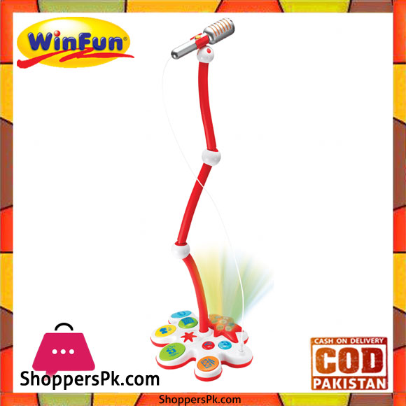 Light Stand Price In Pakistan: Buy Winfun Beat Bob Let's Jam Microphone With Stand At