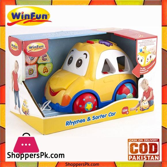 Winfun Beebop Rhyme and Sortor Car 659