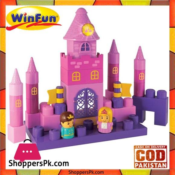 Winfun Builder Princess Palace with Light and Sound