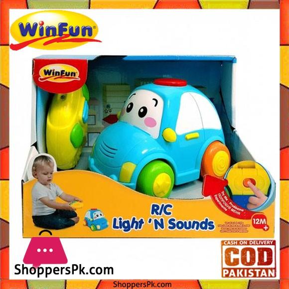 Winfun Remote Control Light n Sound Car
