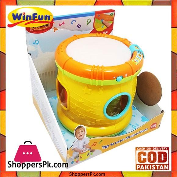 Winfun - Tap 'N Learn Musical Drum 713