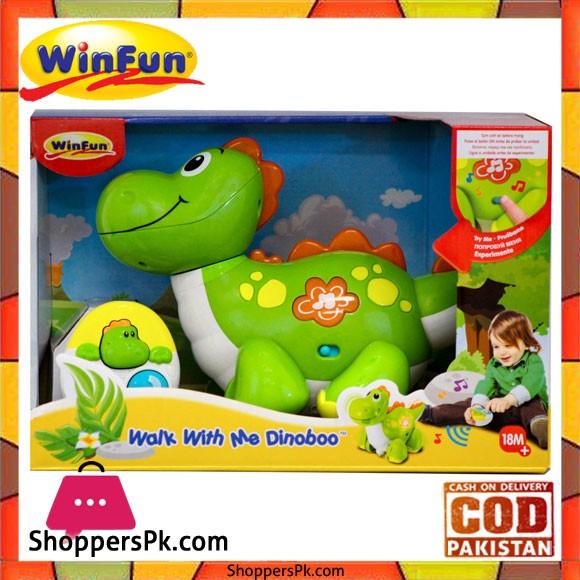 Winfun Walk with Me Dinoboo