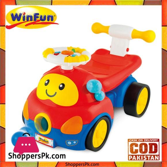 Winfun Walker Ride on Popping Car