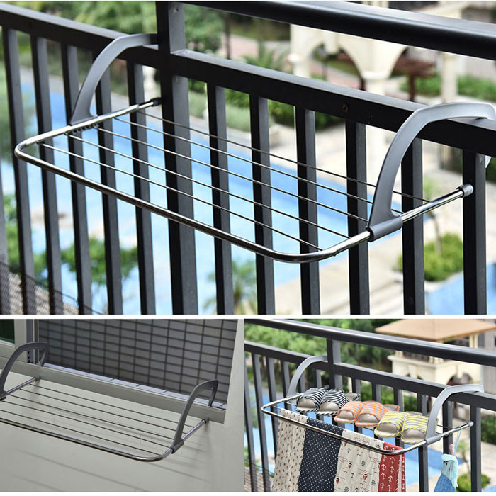 Buy Indoor Outdoor Easy Install Folding Clothes Rack