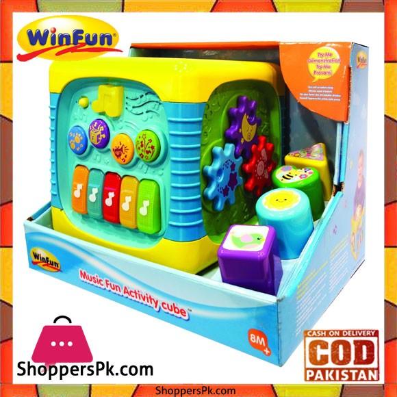 Winfun Music Fun Activity Cube 0741