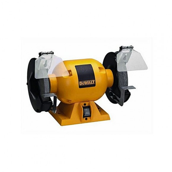 Dewalt Dw752R 150Mm 373W Bench Grinder-Yellow & Black