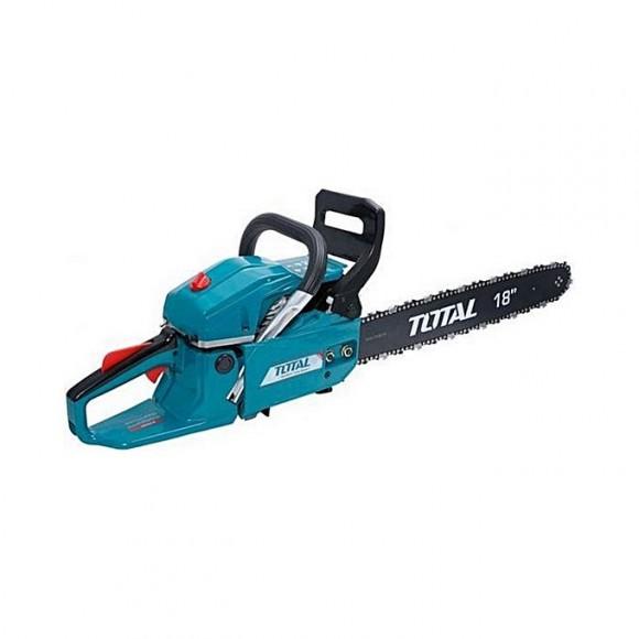 Total Tg945184 Gasoline Chain Saw 18''-Blue & Black