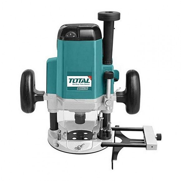 Total Tr11122 Electric Router 2200W-Green & Grey
