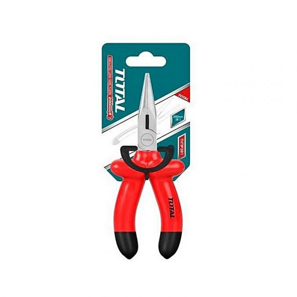 Total Thtip381 Insulated Long Nose Plier 8''-Red
