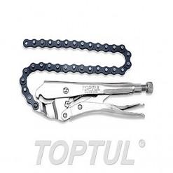 TOPTUL Grip Plier Chain Locking Clamp grip plier 18'' TOPTUL DMAB1A18